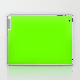 Bright Fluorescent  Green Neon Laptop & iPad Skin