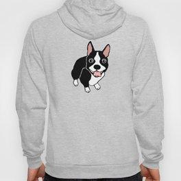 Happy Boston Terrier Hoody