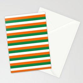 ireland ivory coast miami niger flag stripes Stationery Cards