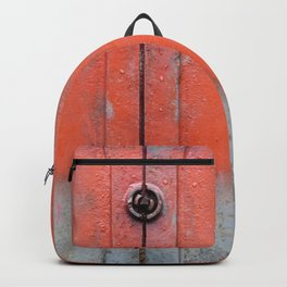 Red over Grey Backpack