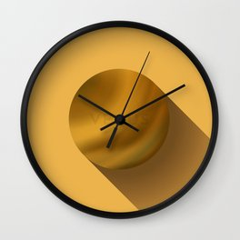 Flat Planet - #4 Venus Wall Clock