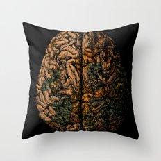 Always On My Mind - Brain Traveling Wanderlust Love Travel Throw Pillow