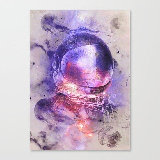 Thru Them Canvas Print