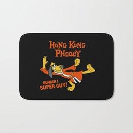 hong kong phooey spy Bath Mat