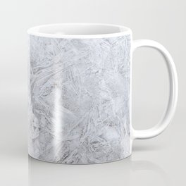 Full Frame Shot of Snowflakes Artistic Abstract Coffee Mug