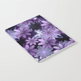 Ultra Violet Anemones of Tillandsia Notebook