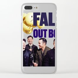 FALL OUT,BOY TOUR #2 Clear iPhone Case