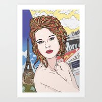 france Art Prints featuring France by • PASXALY •