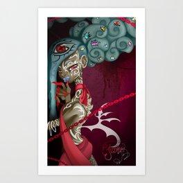 Demoness Art Print