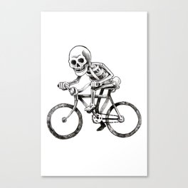 They see me rollin Canvas Print