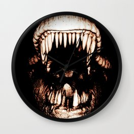 """""""Kisses From Hell"""" Wall Clock"""