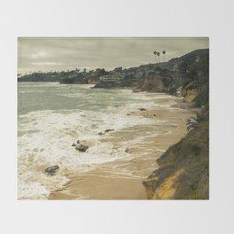 Laguna beach CA Throw Blanket