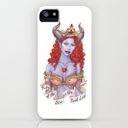 Ruby of the Sea iPhone Case