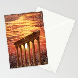 Baalbek Sunset Stationery Cards