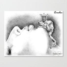 CORNELIUS Frog Prince Print Canvas Print