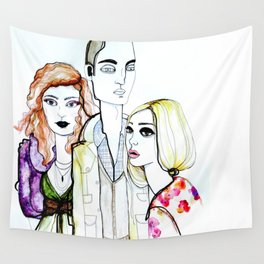 pout Wall Tapestry