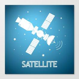 Satelite Canvas Print