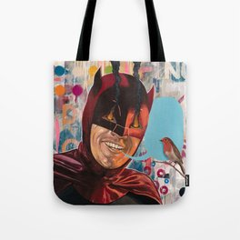 Caped Crusader by Famous When Dead Tote Bag