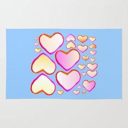 Heart of love Rug