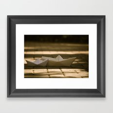 Sail. Framed Art Print