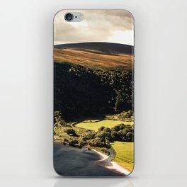 Irish Black Water - Lough Tay iPhone Skin