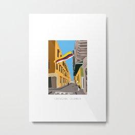 Cartagena de Indias, Colombia Mini Metal Print