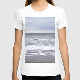 Cloudy Day on the Beach T-shirt