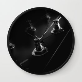 Six String Noir Wall Clock