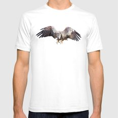 Arctic Eagle Mens Fitted Tee SMALL White