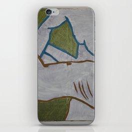 Dariusz Stolarzyn COUPLE ON THE GREEN BACKGROUND 2015/2016 iPhone Skin