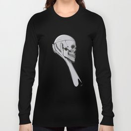 Skull Hamblet  Long Sleeve T-shirt