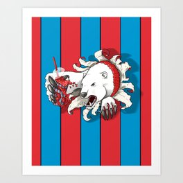 Polar Attraction for Icee Art Print