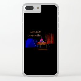 Electrified Adelaide Clear iPhone Case