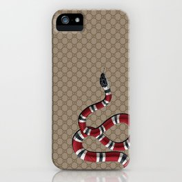 GucciSnake iPhone Case