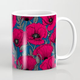 Night poppy garden  Coffee Mug