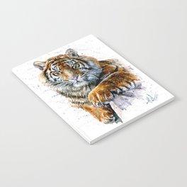 Tiger watercolor Notebook