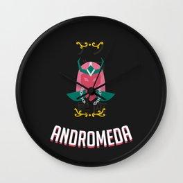 The Saint of the Dark Andromeda Wall Clock