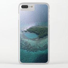 Romantic Hideaway Near Belize Clear iPhone Case