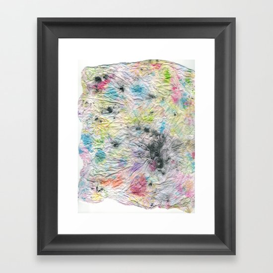Spotted Mess Framed Art Print