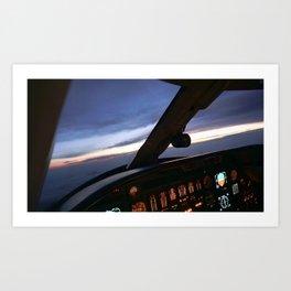 Driver seat Art Print