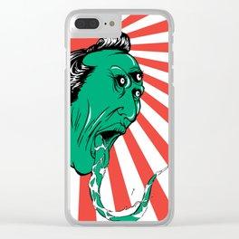 Green Yokai Clear iPhone Case
