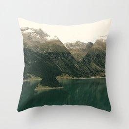 Wild Mountains Throw Pillow
