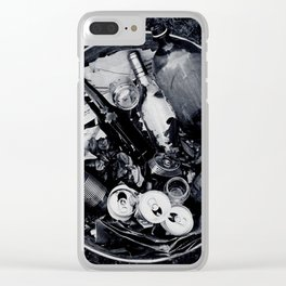 Garbage. Clear iPhone Case