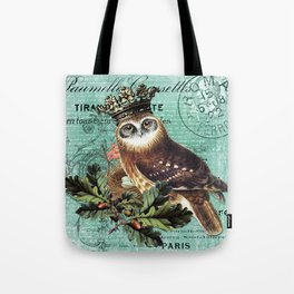 Hibou Royal Tote Bag