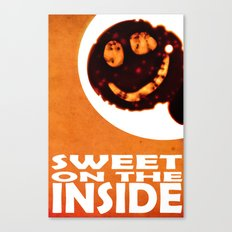 sweet on the inside Canvas Print