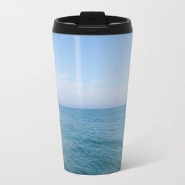 Floating to Blue Travel Mug