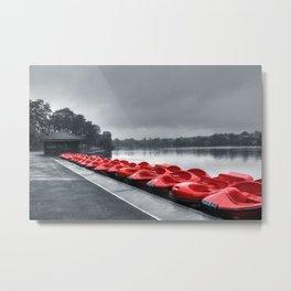 Boat Hire Metal Print