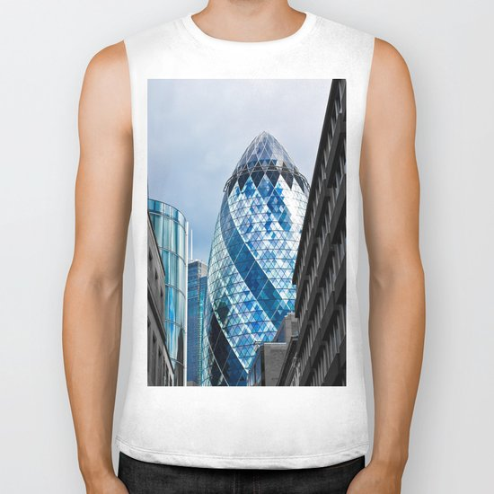 The Gherkin London Biker Tank