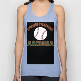 Baseball Spring Training 2018 Unisex Tank Top