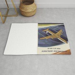 Vintage poster - Astrojet Rug